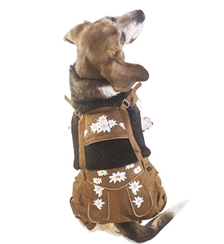 EINSZWEIDOG Oktoberfest German Dog Lederhosen, Multiple Sizes (7XL) -