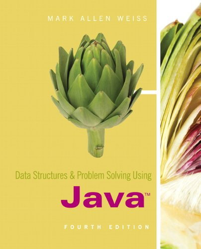 Data Structures and Problem Solving Using Java (4th Edition) by Brand: Prentice Hall
