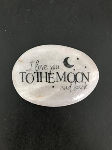 I Love You To The Moon And Back Rock by Florida-Funshine