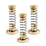 Saiper T8 Anti-Backlash Spring Loaded Nut Elimination Gap Nut for 3D Printer CNC Machine 8mm Acme Threaded Rod Lead Screws(3Pcs)