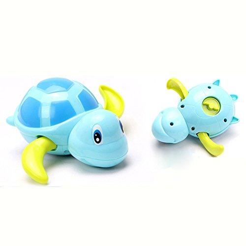 (NszzJixo9 Baby Kids Multi-Type Wind Up Bathing Shower Clockwork Halobios Toys Tortoise Bright Colors Help Children's Color Discrimination )