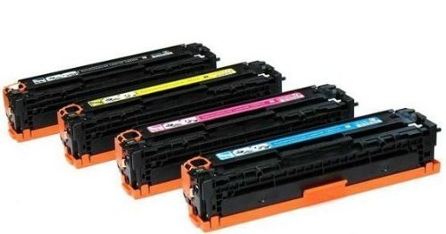 - HP-CE320/CE321/ CE322/CE323 Printer Toner Cartridge ,Compatible/NEW,For HP color LaserJet CP 1525/1525NW/CM1415FNW (black/1pc,bule/1pc,yellow/1pc,red/1pc 1000page)