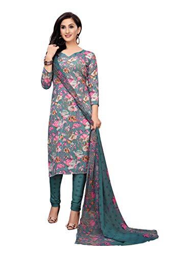 Oomph! Women #39;s Unstitched Georgette Salwar Suit Dupatta Material