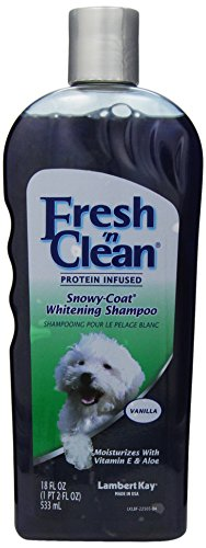 Fresh N Clean Lambert Kay Snowy-Coat Shampoo 18oz