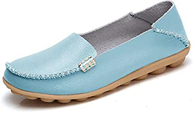 VenusCelia Womens Comfort Walking Blue Size: 11