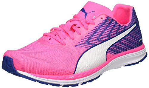 Puma Speed100Rignwnf6 - Chaussures de Fitness - Femme Rose (Knockout Pink-true Blue-puma White 03)