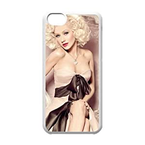 Diy Christina Aguilera Iphone 5C Hard Shell Case Fashion Style UN917691