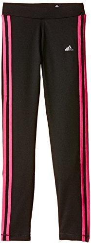 adidas Mädchen Clima Tights, Schwarz/Pink, 128, AB4788