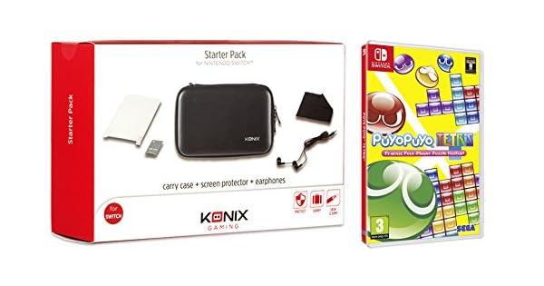 Puyo Puyo Tetris + Konix Starter Pack Switch: Amazon.es: Videojuegos