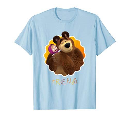 Masha and the Bear T-shirt Friends (Masha And The Bear English Full Episodes)