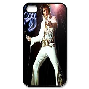 Mystic Zone Personalized Elvis Presley iPhone 4 Case for iPhone 4/4S Hard Cover Stars Fits Case KEK0146 by mcsharks