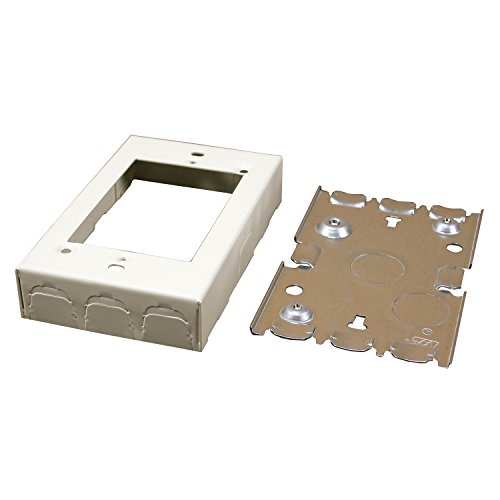 Legrand – Wiremold B-2 Switch/Outlet Box, Ivory