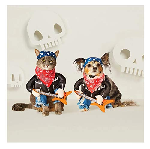 Hyde and Eek! Boutique - Patriotic Rock Star Halloween Pet Dog Costume (Large)]()