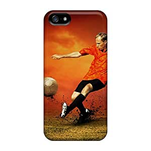 Hot EOaRUfz7275iLJjj Case Cover Protector For Iphone 5/5s- Sport South Africa Fifa World Cup Captain Of The Football Team In South Africa