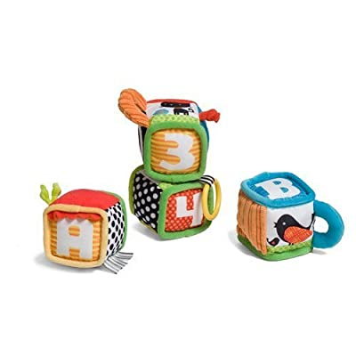 Infantino Discovery & Play Soft Blocks : Sorting And Stacking Baby Toys : Baby