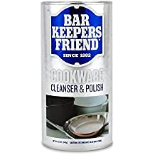 Bar Keepers Friend COOKWARE Cleanser & Polish Powder - 12 Oz. Each Can - 1-Pack
