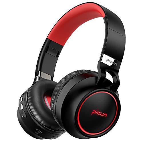 YJYdada Wireless Bluetooth Foldable Headphones Hi-Fi Stereo Headset with Mic SD//TF Card