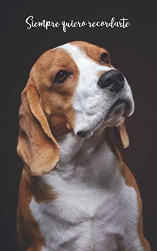 Siempre quiero recordarte: Cuaderno de contraseñas discreto | 109 Páginas | 432 Espaciosas cajas de registro | Beagle | Sitio web, Nombre de usuario, ... internet | Registro | Perro (Spanish Edition)