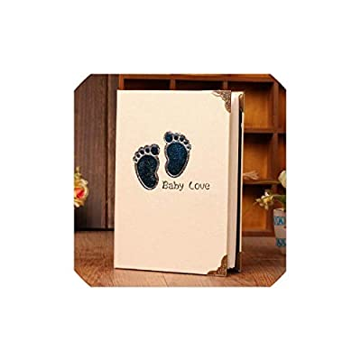 Photo Album 6 Inch Photo Album Cartoon Cute Picture Storage Frame 200 Sheets Insert Page Album Children Lovers Wedding Memory Book