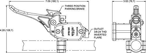 Polaris Ski-Doo Arctic Cat Wilwood Snowmobile Universal Front Master Cylinder