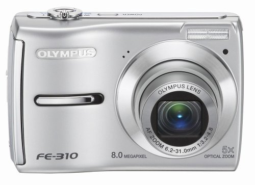 amazoncom olympus fe 310 8mp digital camera with 5x optical zoom black point and shoot digital cameras camera photo - Olympus Digital Camera