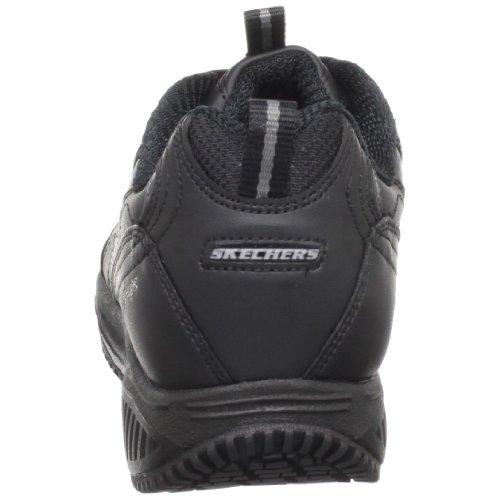 Skechers Pour Le Travail Des Femmes Des 76460 X Sneaker-routine Usure Noir