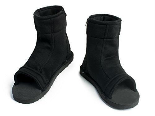 (CosFantasy Japan Classic Anime Black Shippuden Ninja Shoes Cosplay Unisex mp000563 (EUR 36))