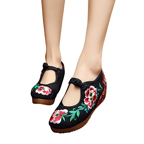 5 cm Camellia folk style embroidery ladi - Costume Baby Doll Platform Shoes Shopping Results