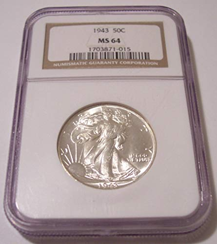 1943 Walking Liberty Half Dollar MS64 NGC
