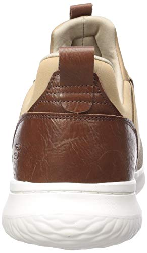 Skechers Men's Classic Fit-Delson-Camden Sneaker,light brown,12 M US