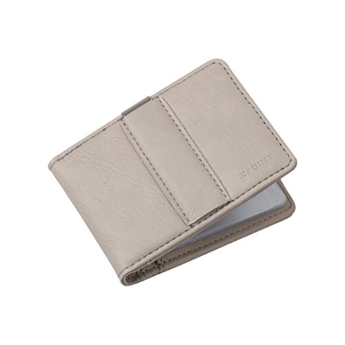 ECM11B02 Grey Business Excellent Perfect Mens Money Clip Wallet Card Holder Presents Idea For New Year'S Eve By Epoint