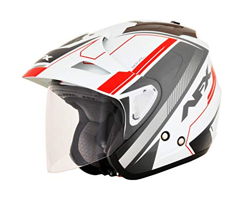 HELMET FX50 MUL RED XL
