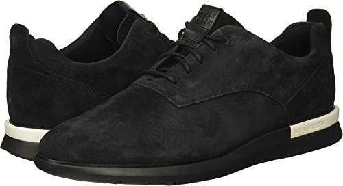 Cole Haan Men's Grand Horizon Oxford Wholesale II Sneaker, Black Suede/Black, 11 Medium US (Horizon Oxford)