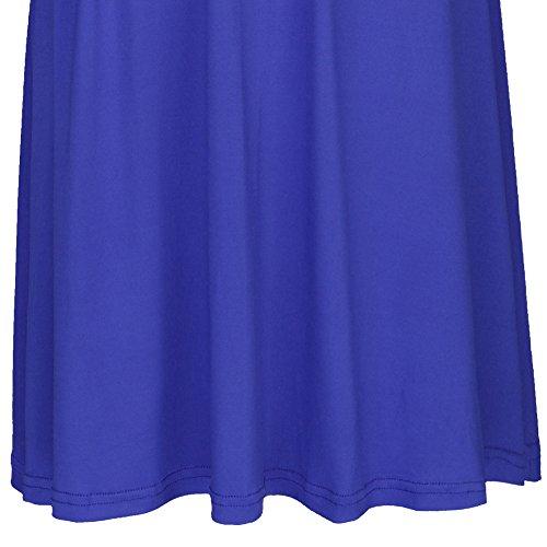 Mangas Vestidos Boho sin Azul Infinity Honor Fiesta Transformer de Corto Dresses Elegante Coctel Sin Noche Rodilla de de Multi Maxi Respaldo Vestido de de Mujer Way de Dama Real Cóctel AwUFX0Fqx