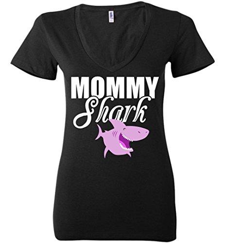 Doo V-neck - Mommy Shark Tshirt, Doo Doo Doo - Mothers Day Gift V Neck