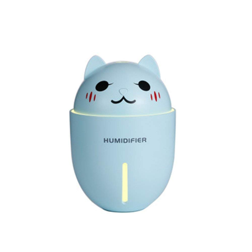 320 Ml USB Portable Multifunctional Humidifier, Office Bedroom Mini Car Air Purifier Cartoon Cold Fog Humidifier, Automatically Shut Down The Family Bedroom Baby Room Office Car