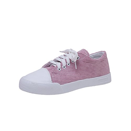 Zapatillas planas en primavera y verano/Cómodo y versátil cordón de zapatos/Zapatillas casuales estudiante C