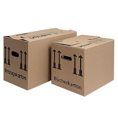 Para Mudanza 10 + 10 cajas de cartón. Paquete ahorro.: Amazon.es: Oficina y papelería