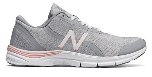 貫通するチャレンジ回転する(ニューバランス) New Balance 靴?シューズ レディーストレーニング 711v3 Mesh Trainer White with Sunrise Glo ホワイト グロー US 5 (22cm)