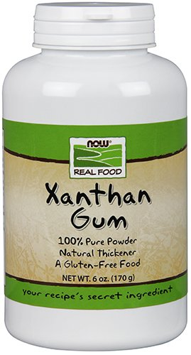 NOW real Food Xanthan Gum Powder, 6-Ounce