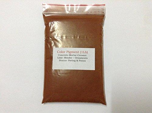 - Terracotta (1Lb) pigment/dye for concrete,ceramic,render,house paint,plaster,cement,brick and tile