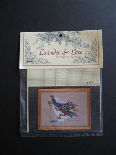 Lavender and Lace Victorian Designs: Angel of Freedom Cross Stitch Pattern ()