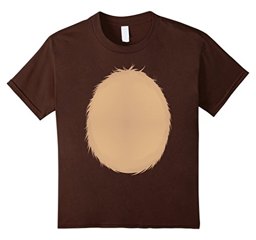[Kids Reindeer Christmas DIY Idea Shirt Rudolph Halloween Costume 4 Brown] (Homemade Costumes For Preschool Teachers)