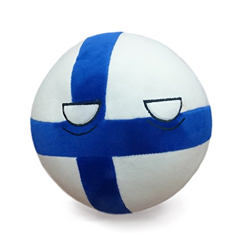 The Official Finlandball - From the Hit Webseries PolandBall - Countryball Plushies