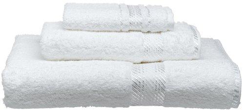 UPC 096317746076, Frenchtex Melody Egyptian Wash Towel, White
