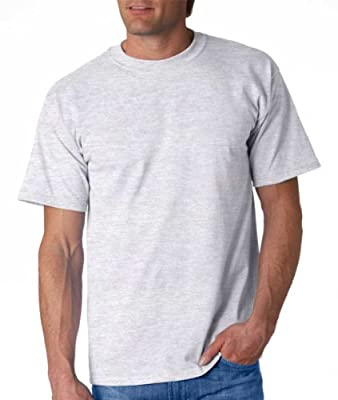 Gildan Adult Ultra Cotton T-Shirt, Ash, Small. 2000