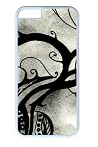 Fiber Of Life9 Custom iphone 6 plus 5.5 inch Case Cover Polycarbonate White