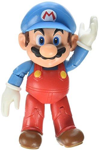 World of Nintendo Ice Mario with Ice Ball Action Figure, -