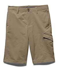 Under Armour Boys' Match Play Cargo Golf Shorts, Canvas (254), Youth X-Small