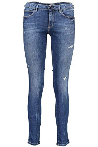 Blu Guess Jeans Mujer W73aj2d2cn3 Denim Upsi wwFCq6